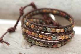 bracelet bead leather images Wonderful design wrap leather bracelets diy bracelet tutorial jpg
