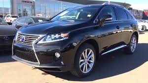 lexus 450h 2015 2015 lexus rx 450h hybrid awd black on saddle technology