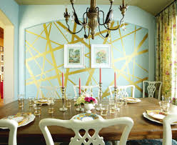 how to decorate with gold in your home