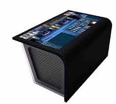 Touch Screen Coffee Table by 4k Display Industrial Pc Interactive Waterproof Interactive Multi