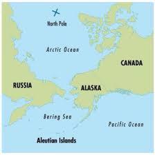 North Pole Alaska Map by Aleut By Alex Legrand
