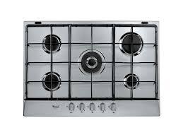 whirpool piani cottura cottura whirlpool in acciaio inox modello akr 357 ix