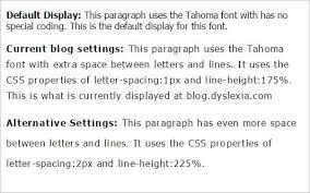 good fonts for dyslexia u2013 an experimental study dyslexia the