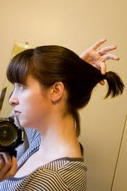 diy cutting a stacked haircut lydia s innovations and just plain ordinary ideas how to cut an