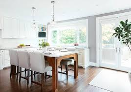kitchen island with dining table kitchen island as dining table with white leather counter stools