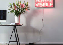 signs and decor daring home decor neon lights for every room