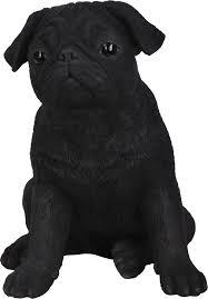 black pug resin garden ornament 29 99 garden4less uk shop