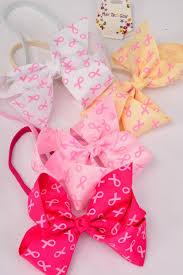 ribbon grosgrain elastic headband jumbo bow pink ribbon grosgrain bow tie dz pink