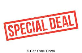 stock illustration of special deal deals great special sales