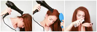 Hair Dryer Volume the freckled fox hair tutorial my no nonsense for