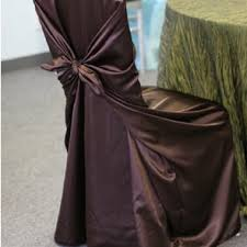 brown chair covers chair covers glow concepts linen rental