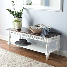 Bench With Baskets Narrow Entryway Bench Canada All Images White Entryway Bench With