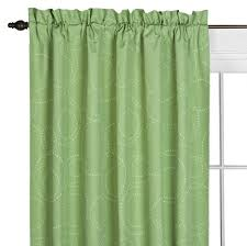 Eclipse Grommet Blackout Curtains Amazon Com Eclipse Kids Miley Blackout Window Panel Green 42