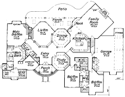mediterranean mansion floor plans house plan 57213 at familyhomeplans
