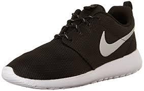 rosch runs nike roshe run trainers all black