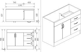 Dimensions Of Kitchen Cabinets Adorable Kitchen Cabinet Dimensions Corner Kitchen Sink Cabinet