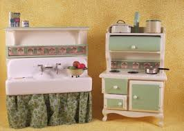 Dollhouse Kitchen Furniture by 156 Best Dollhouse Kitchens Images On Pinterest Miniature