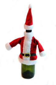 christmas wine bottle cover bright ideas crafts