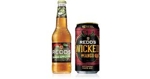 redd u0027s introduces green apple ale and wicked mango flavors