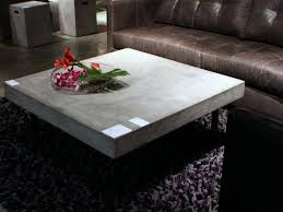 furniture contemporary concrete coffee table cement coffee