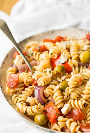 What Is Pasta Salad Calabrese Pasta Salad Frugal Mom Eh