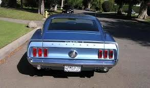 1969 mustang rear 1969 1970 mach 1 one mustang for sale