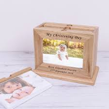 christening photo album wooden photo album my christening day