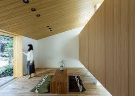 japanese design house alts design office u0027s maibara house has a small garden pavilion