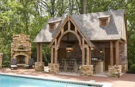 outdoor living furniture amazing small pool house plans with