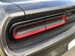 tail light smoke kit 2015 2018 dodge challenger taillight smoke precut vinyl tint overlay