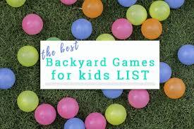 Backyard For Kids 40 Fun Backyard Games For Kids And Outdoor Games That Rock