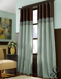 Yellow Brown Curtains Endearing Teal And Brown Curtains And Best 25 Teal Yellow Grey