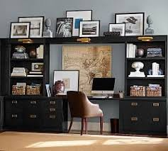Black Home Office Furniture Home Offices Furniture Design Ideas