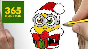 imagen para navidad chida imagen chida para navidad imagen chida feliz como dibujar un minion para navidad paso a paso dibujos kawaii
