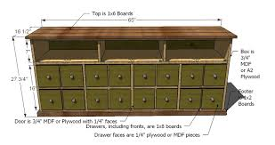 Dvd Cabinet Woodworking Plans by Ana White Apothecary Console Diy Projects
