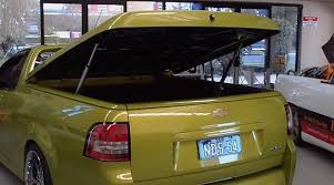 Electric Bed Cover Tonneau Cover Hard Lid Converted To Automated Lift 3 Steps