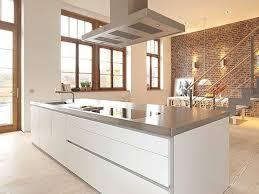 kitchen kitchen with brick wall