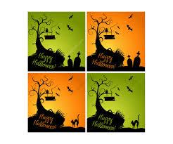 happy halloween text art halloween vector illustrations and cobweb vectors happy