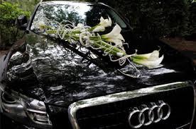 deco mariage voiture décoration mariage voiture des fleurs plein la tête