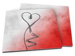 mariage gris que faire faire part mariage coeur gris posé sur dégradé de réf
