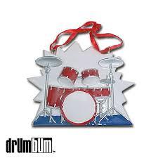 drum bum miscell ornament drum set