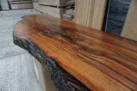 Slab Wood Bar Top Waney Edge Wild Aple Slab For The Bar Top 3 Metre Long