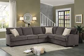 Discount Sectional Sofas by Simple Chenille Sectional Sofa With Chaise 77 For Your