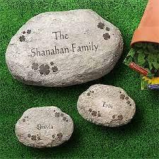 personalized garden stones personalized garden stepping stones shamrocks