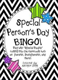 s day bingo grandparent s day or special person s day bingo by meagan kelli