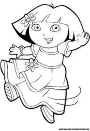 dora coloring print outs printable pages coloring pages