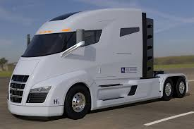 concept semi truck nikola readies electric fuel cell semi truck trucks com