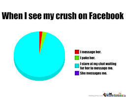Meme Pics For Facebook - when i see my crush on facebook by fluffykins17 meme center