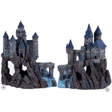 magical castle aquarium ornament by penn plax at petworldsho