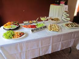 housewarming party buffet table housewarming party ideas